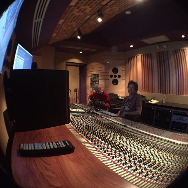 Mix room at Horse Latitudes, Micheal Dumas and Robby Krieger's new studio. This was a big install!