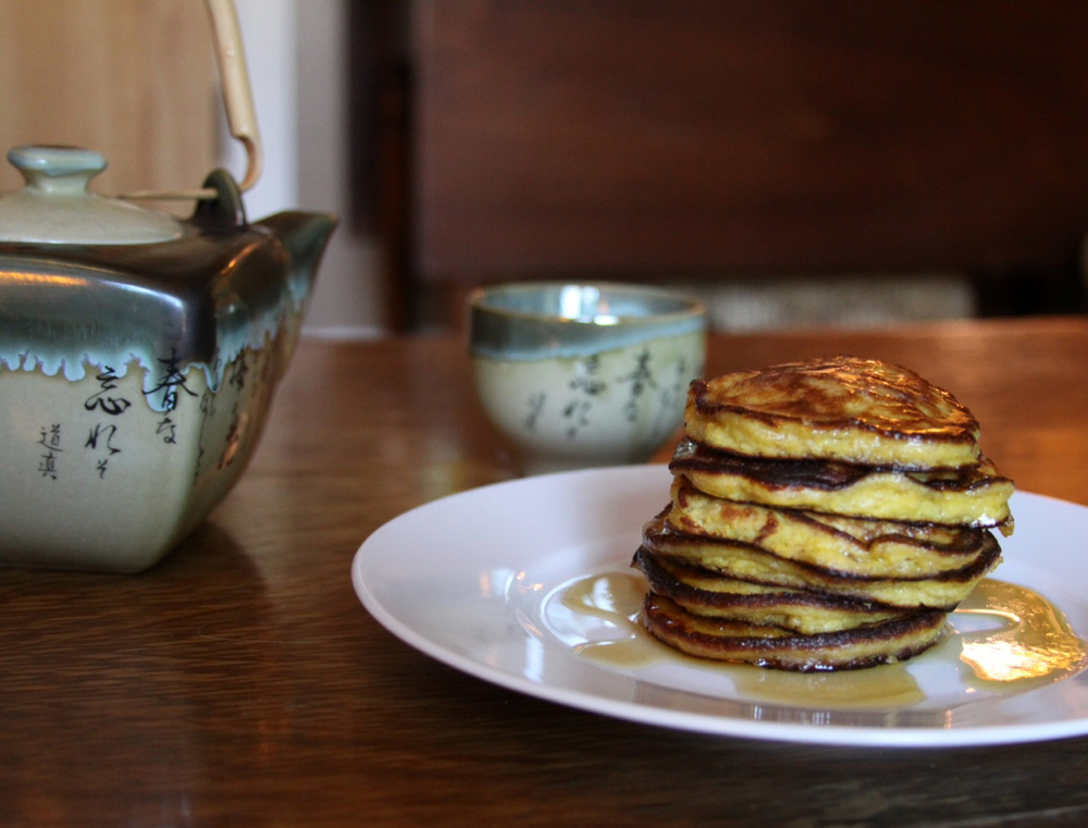Almond-flour pancakes are the ultimate comfort food.