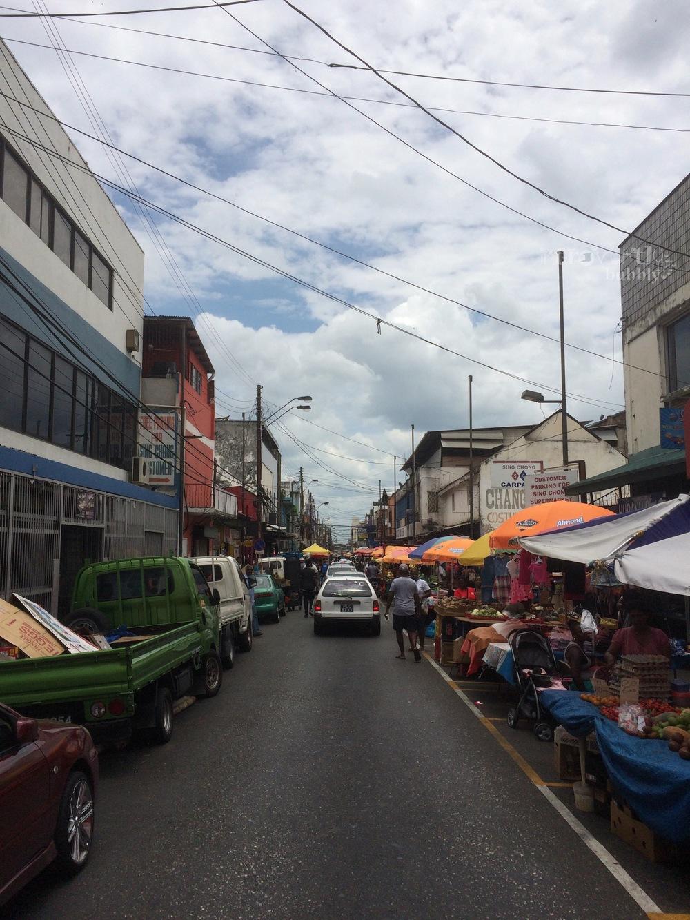 Charlotte Street in April 2016