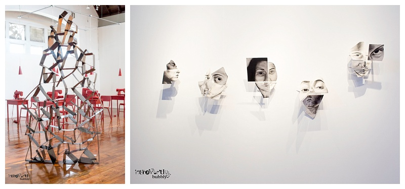 Work by Art Student Nicole Tang and Sonya Ramjewan