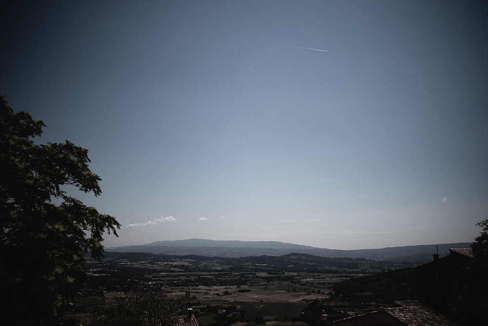 View from the heights of Gordes