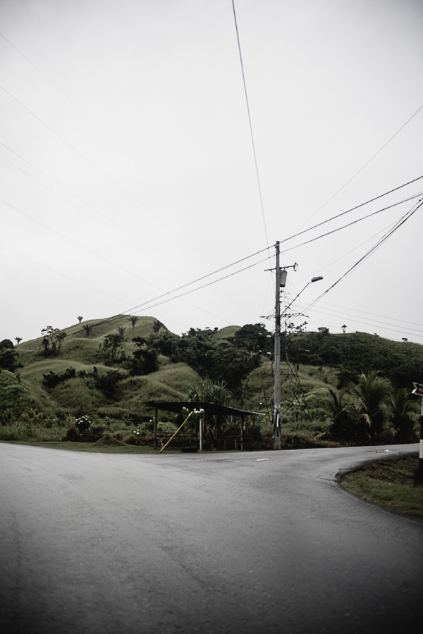 Copy of Beautiful, scenic drive into Gran Couva on an overcast day