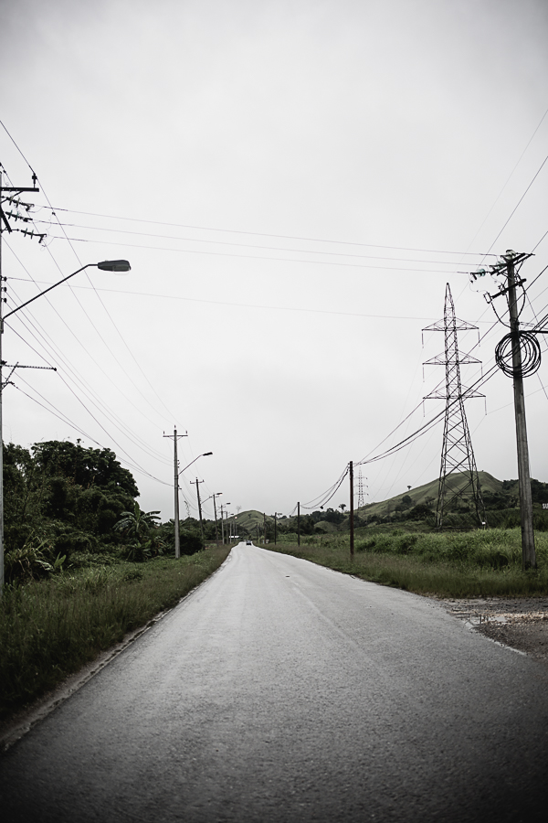 Beautiful, scenic drive into Gran Couva on an overcast day