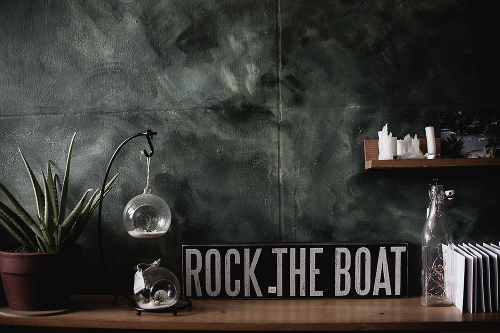 "Shop ""ROCK THE BOAT"" Decorative Item at Con Brio Furniture and Gift. Con Brio Furniture and Gift is a little store that specializes in beautiful furniture, mirrors, home accents, gifts, candles and curiosities."