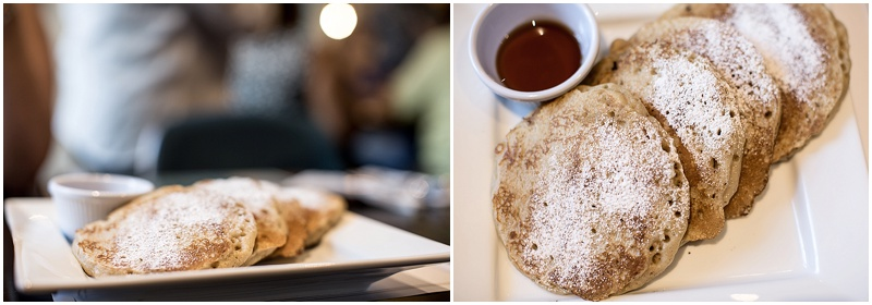Cristiano's Pancakes - They boast a delectable stack of flavorful pancakes. They come in three and are quite fulling.