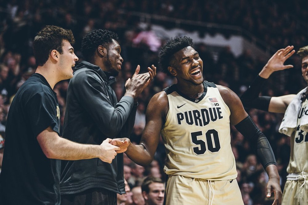 Purdue basketball mid-season report card - Breaking down the stats that have Purdue sitting at 5-2 in conference play and what needs to get better to maintain the Boilermakers' upward trajectory.