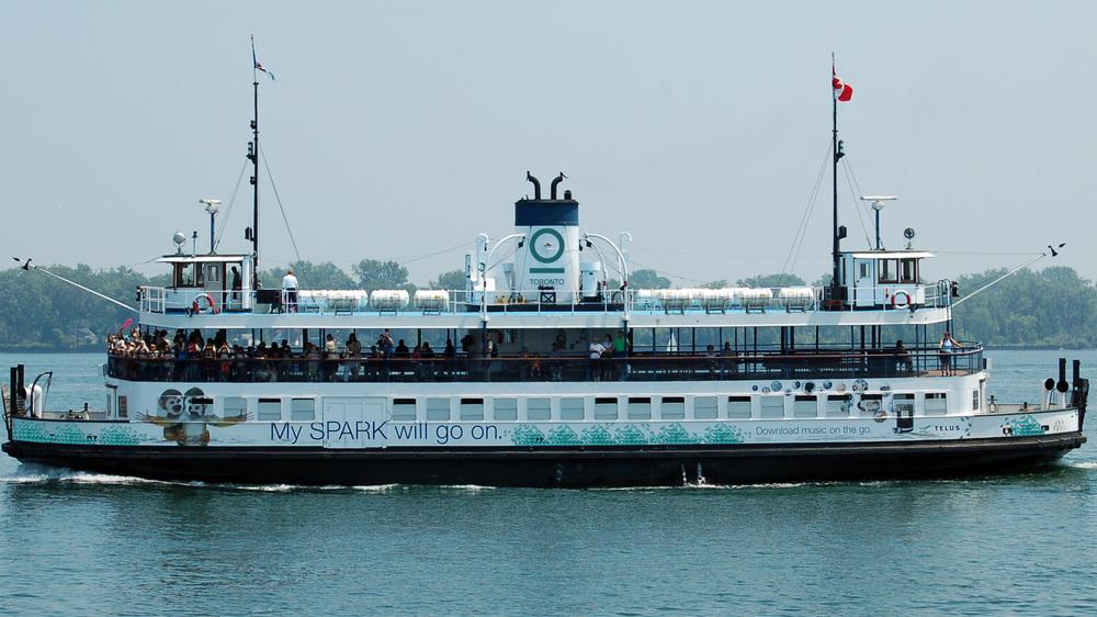 Branding for Toronto. Toronto Ferry