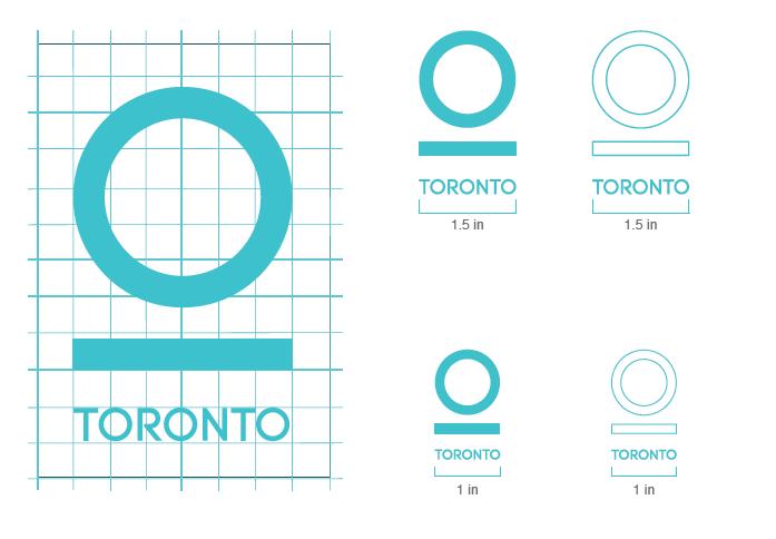 The city of Toronto. Branding Identity