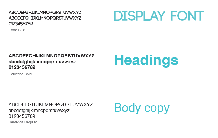 Brand Identity. Typography for the city of Toronto