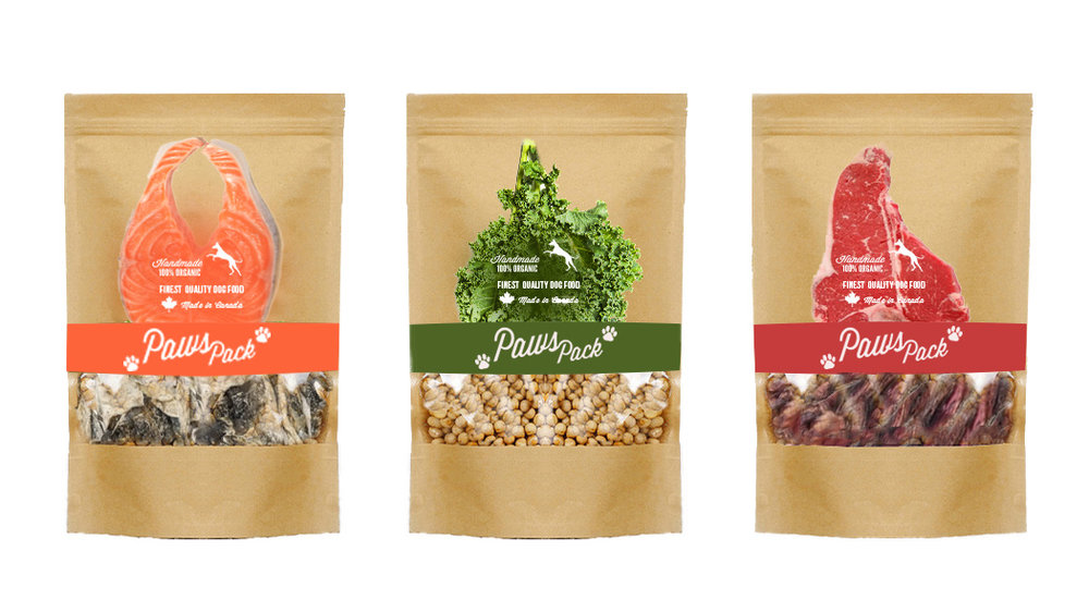 Label design and branding for Hold my paws
