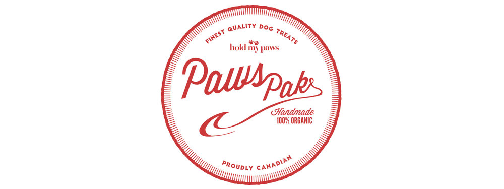 Branding and Brand Identity for Paws Pack. Hold my Paws