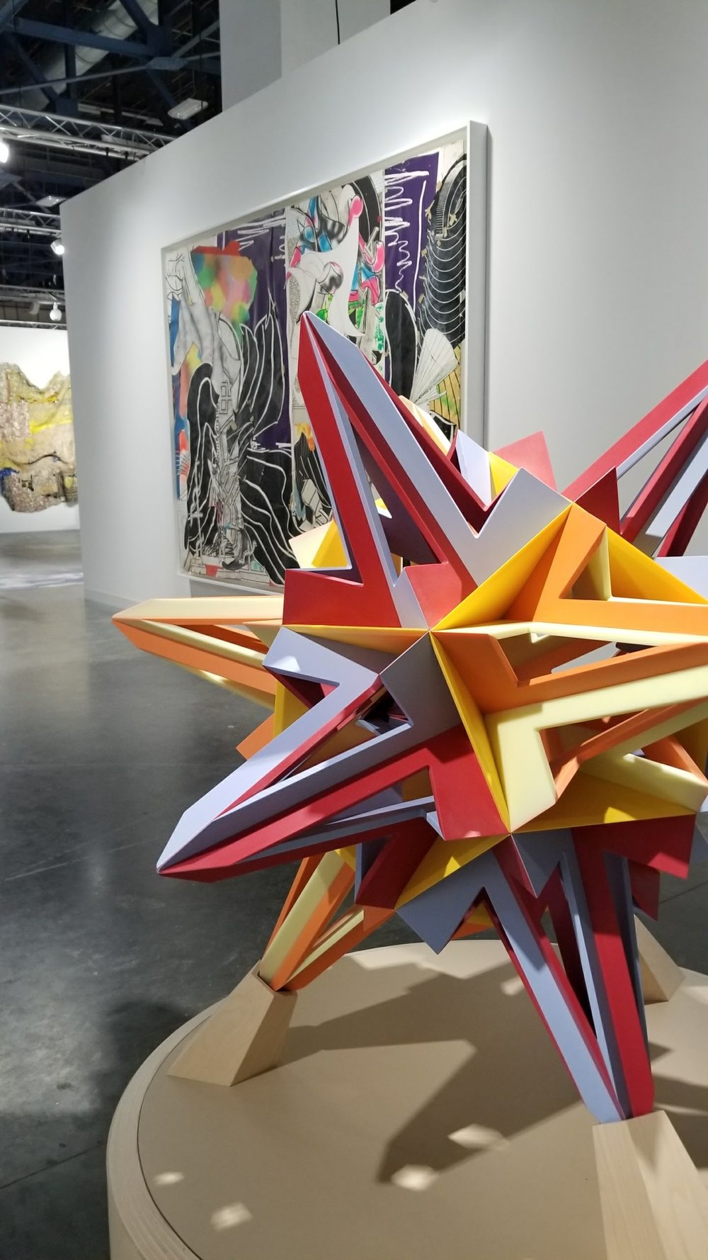 Some stunning pieces by Frank Stella