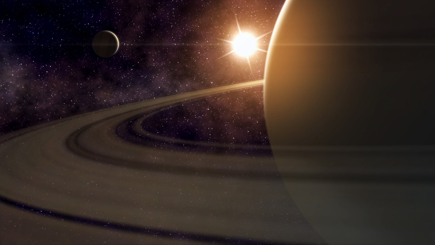 Create a Saturn Space Scene in After Effects — VFX City