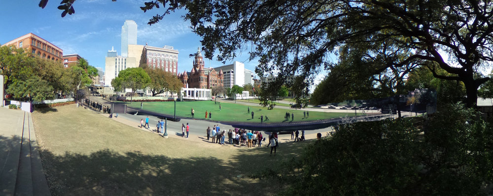 The Zapruder film background and the 360 plate combined.