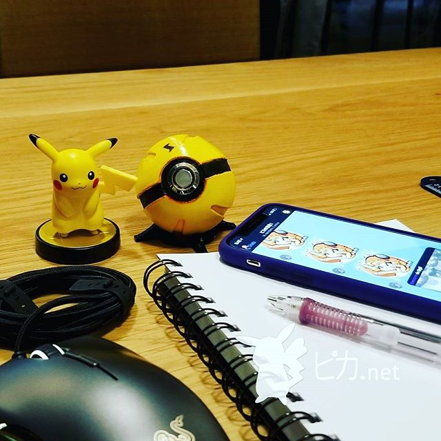 🍵🍵🍵 Happy Pokémon Day!!!! Pika and I have been slaving away on our new company @gxprojext and our first product...a ball that is a remake of our original...but with a HUGE emphasis on quality...we can't wait to show it to you all here on our personal account first 💛💛💛 And we will be doing a giveaway, so stay tuned!!! 😄 . #pikadotnet #pika #pikachu #amiibo #pokemon #pokeball #artist #design #gxprojext #quality #shoutout #gamergirl #gamer #nintendo #nyc #pikapickme #大声で叫ぶ #ピカ #ピカチュウ #アミーボ #ポケモン