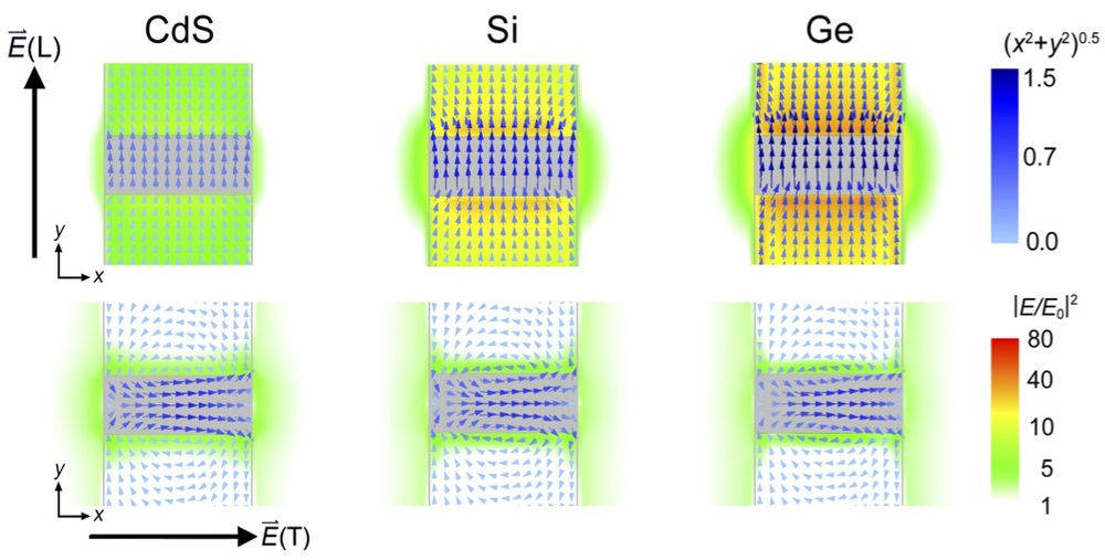 Tuning localized surface plasmon resonances (LSPRs) in semiconductor nanowires (From: Chou et al, J. Phys. Chem. C 2014)