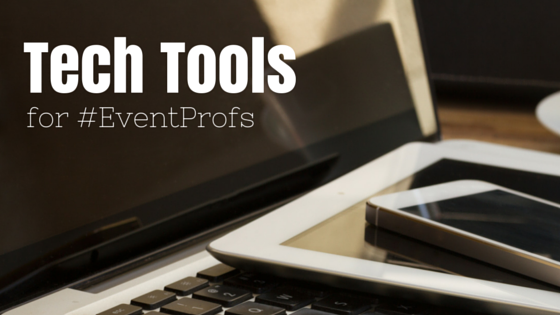 Tech tools for Eventprofs