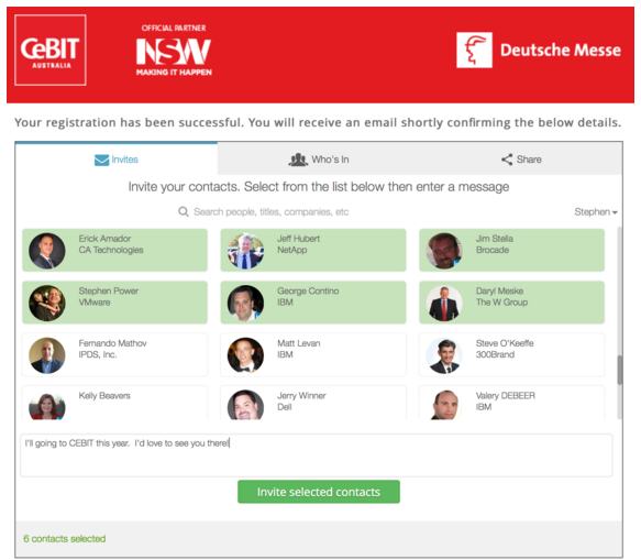 Possible Power Rank points (5):  CeBit Australia: 5