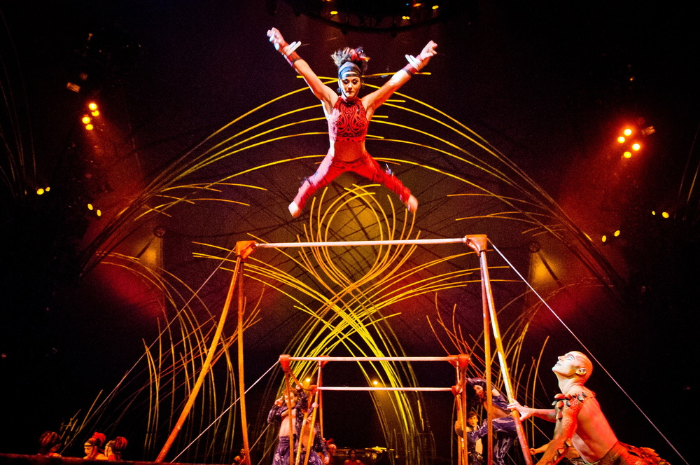 Charles William Pelletier / Cirque du Soleil