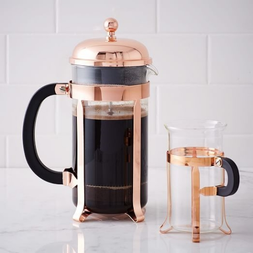 NEW: Bodum Chambord Copper French Press