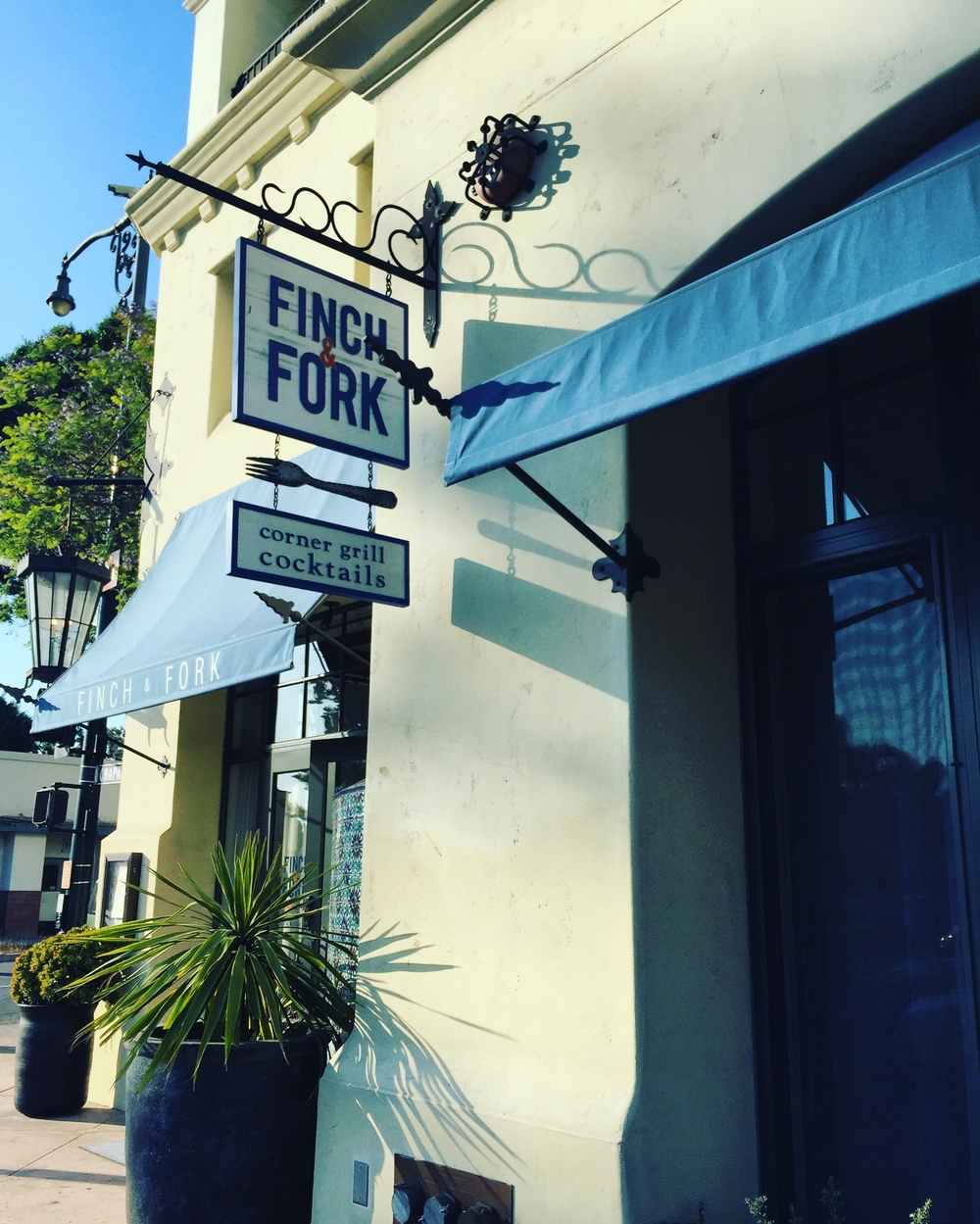 Finch & Fork (Kimpton's Canary Hotel in Santa Barbara)