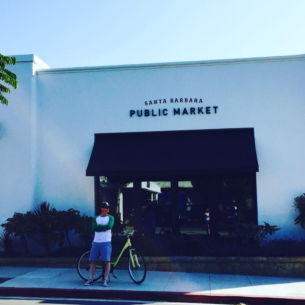 The ever popular Santa Barbara Public Market.