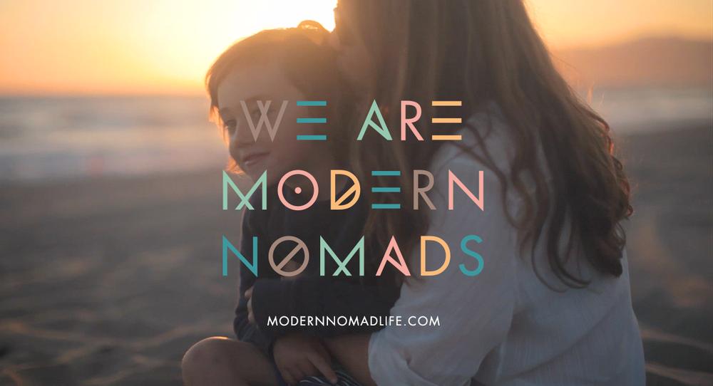 Tara and her new adventure: Modern Nomad Life. Photo Courtesy of modernnomadlife.com