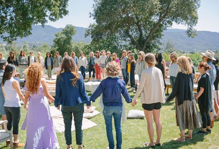 The first Great Jane retreat, May 2016. Ojai, California. Photo courtesy of Instagram: @the_great_jane.