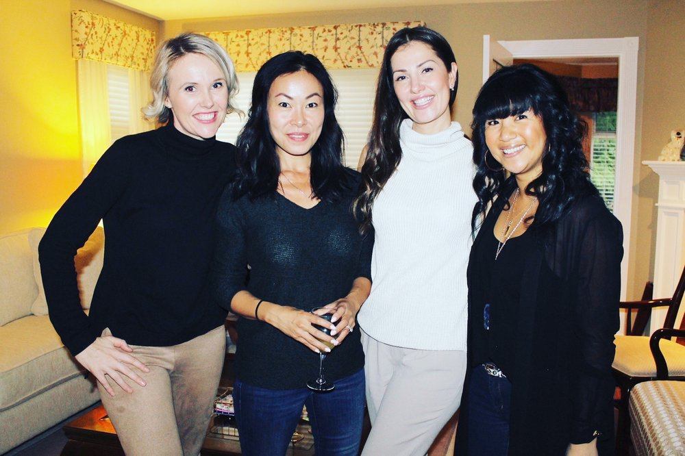More amazing women in my life - Katie, Sunny, Jennifer and May.