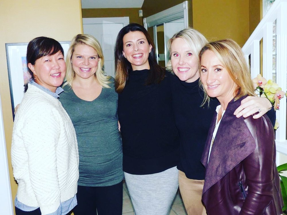 Joanne (Jojo), me, Kimberlee, Katie and Angela. Another group of amazing, talented, successful women (and some moms). Most are my #WSC crew from my old hood. Inside thing, but basically the BEST neighbours a girl could have.