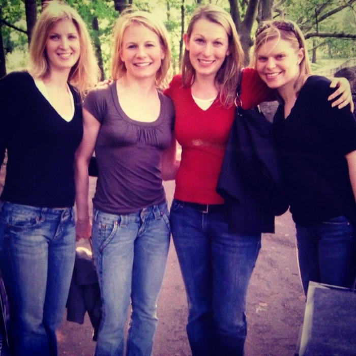 Central Park, NYC circa 2006 with my ladies. Oh the memories that were had.