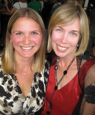 Jill (R) with FWE Founder & Chair Christina Anthony (L).