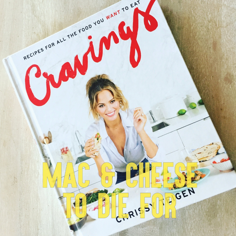 One of the most viewed posts on my blog, this amazing mac and cheese I cooked from Chrissy Teigen's book Cravings. You MUST try this! If only for the garlic, cheesy breadcrumbs on top.