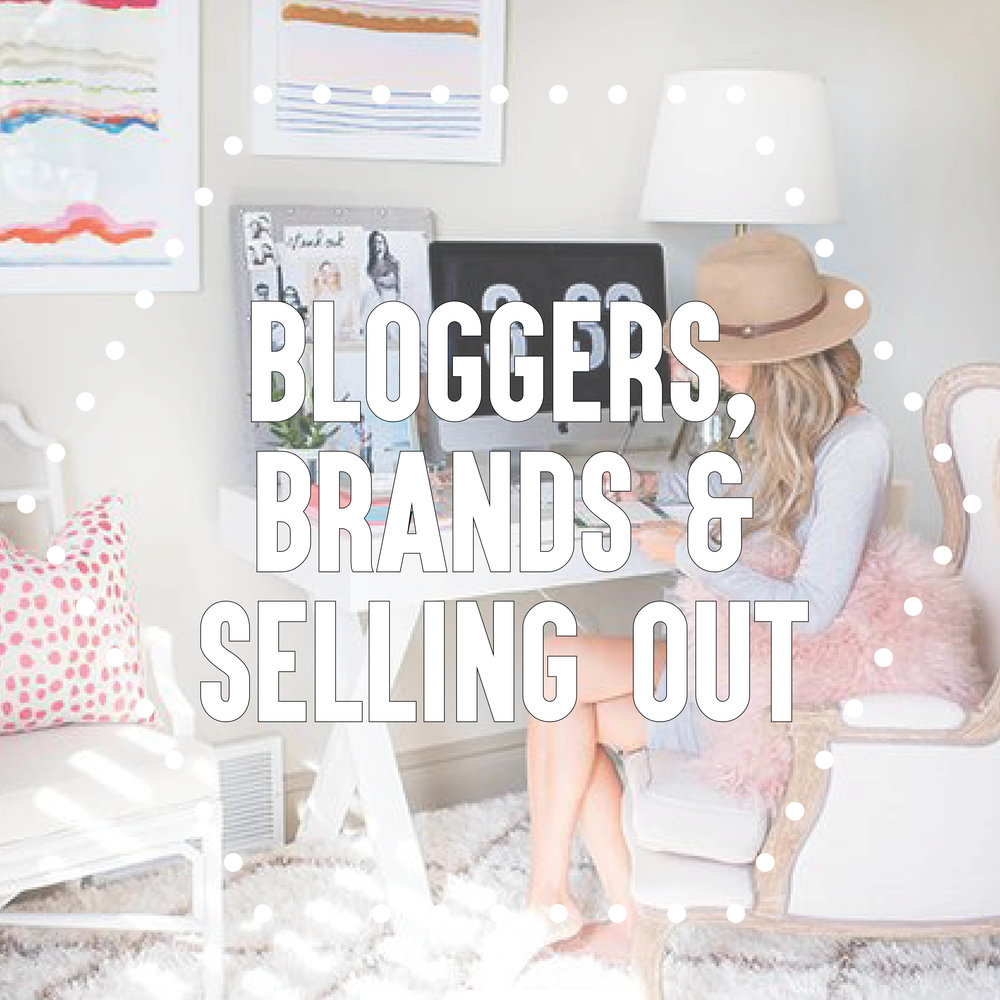 Definitely one of my more controversial posts. I speak candidly (and give my opinion of course) on the boom (and overkill) of bloggers who's goal it to make more money from the blog than doing it simply as a passion project.