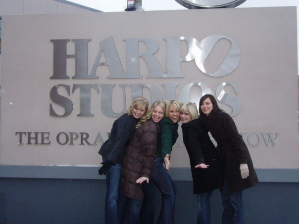 Back to where it all began! Arriving at Harpo studios....trying to keep it together.
