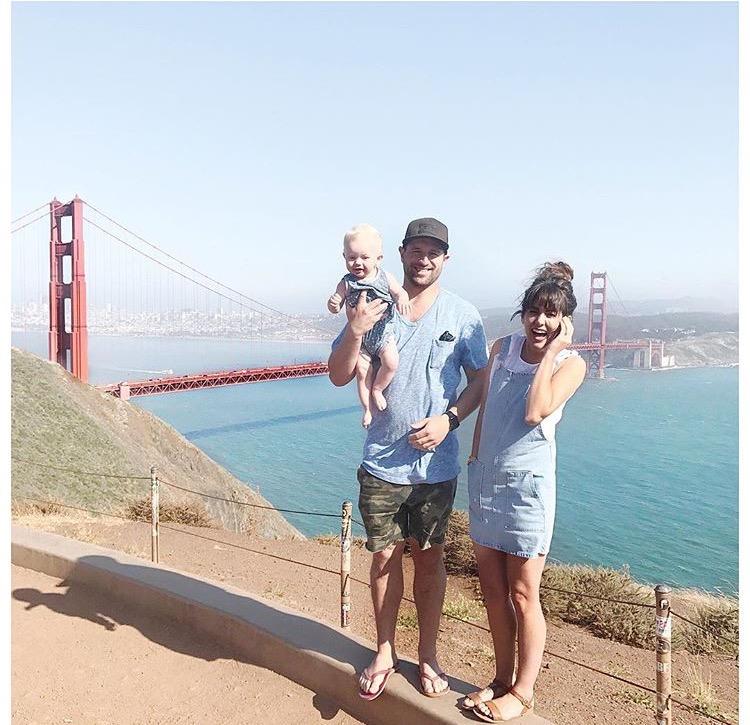 Jilly, Justin and Leo do San Fran