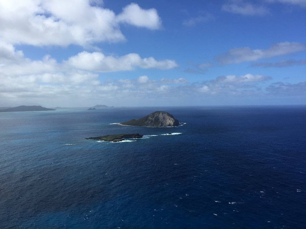 View from the top of Makapu'u Point