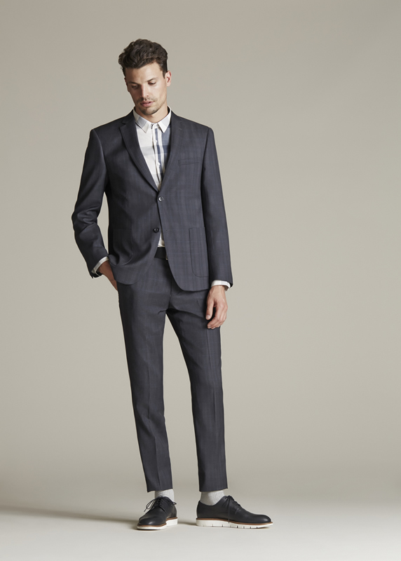 Charcoal slight check notch lapelle suit - 7.jpg