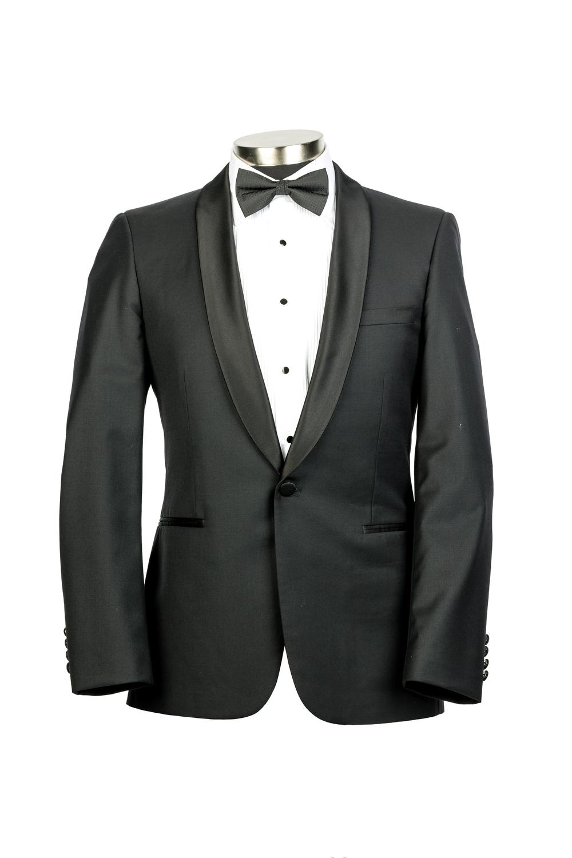 New England Black Tuxedo Jacket