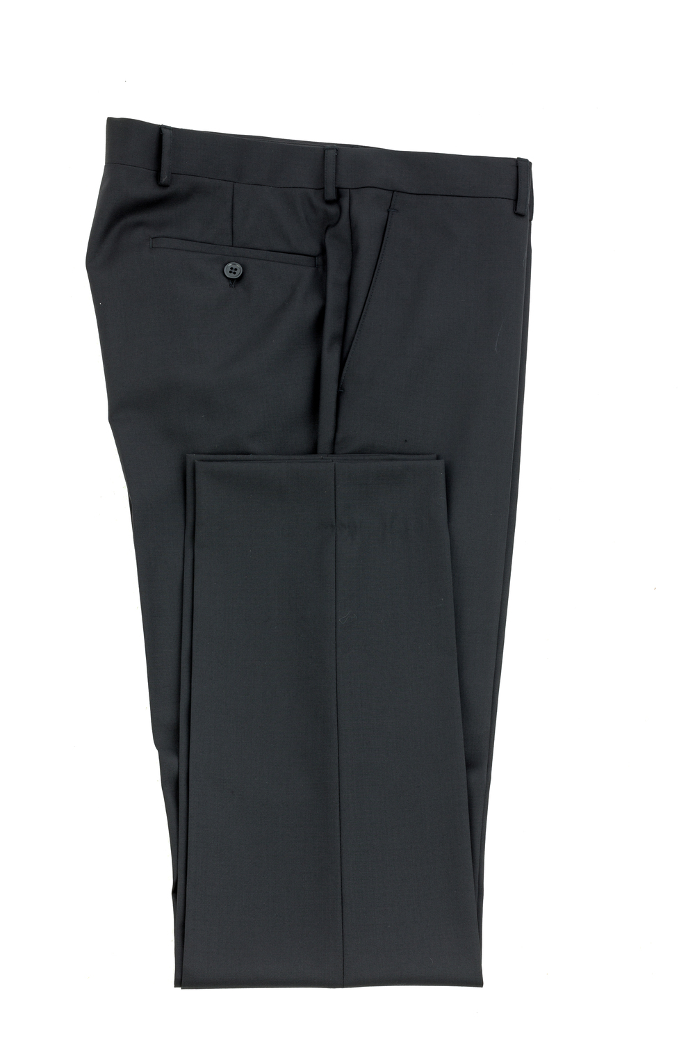 New England Jet Black Trouser