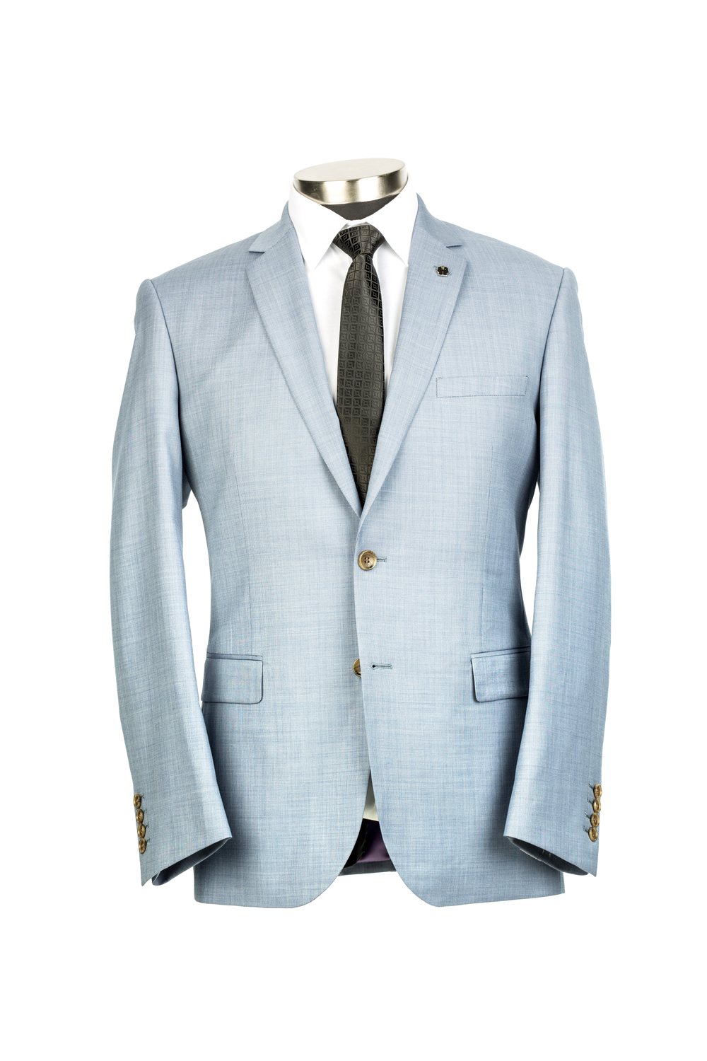 Kenneth Blake Light Blue Jacket