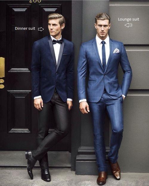 What Is A Lounge Suit Black Jacket Suiting
