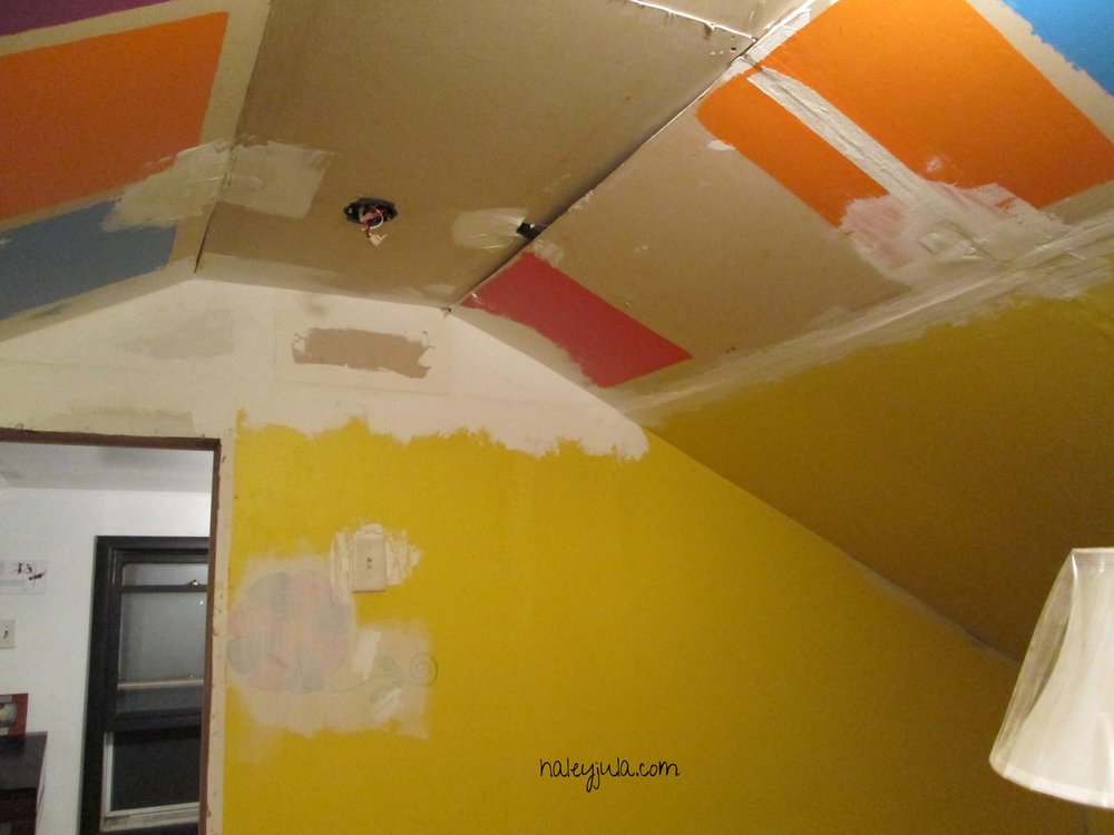 Before (the ceiling)