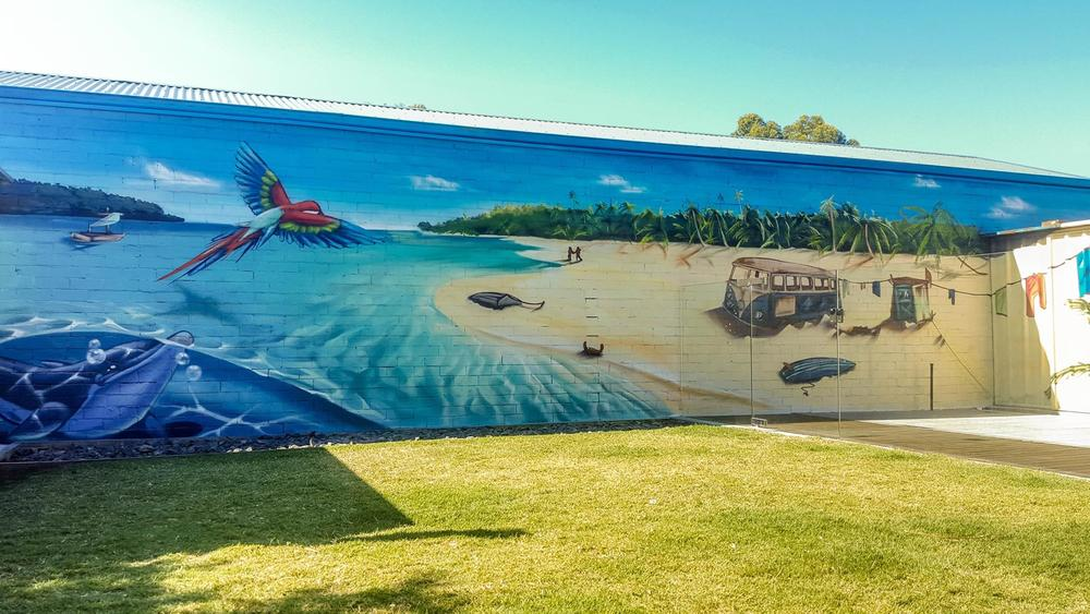 Poolside commission