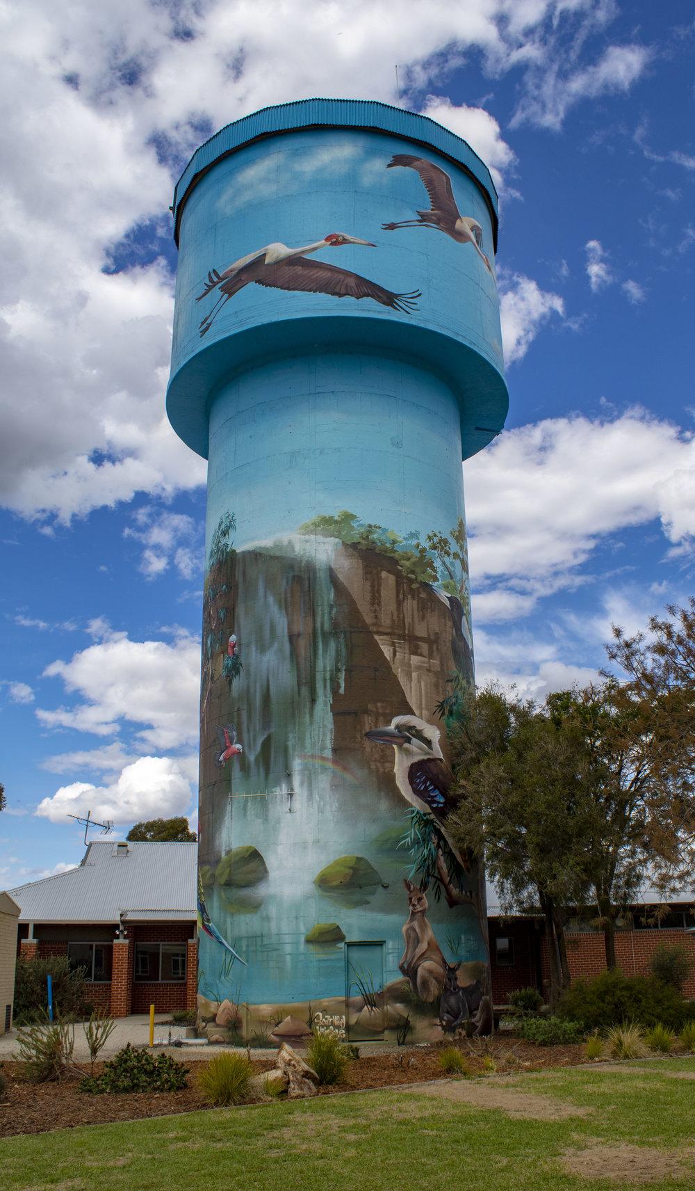 Lockhart Water Tower