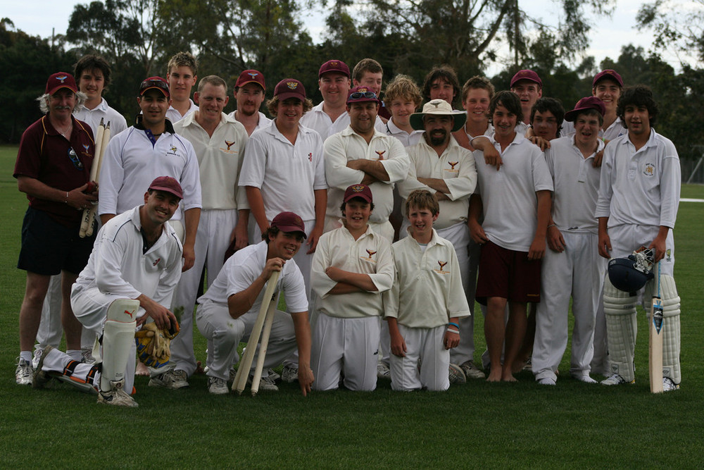 MOCCC XI vs. Marcellin College 1st XI, 2006