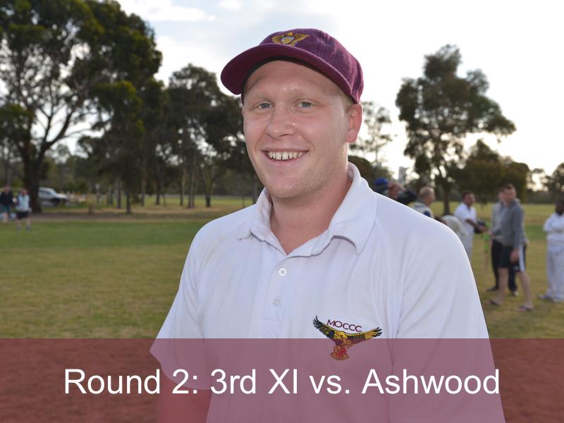 Round 2: 3rd XI vs. Ashwood