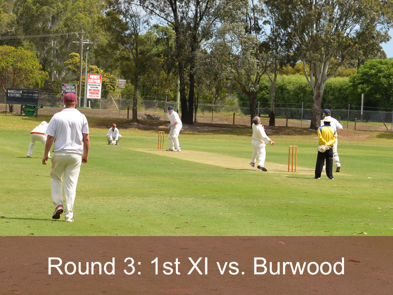 Round 3: 1st XI vs. Burwood
