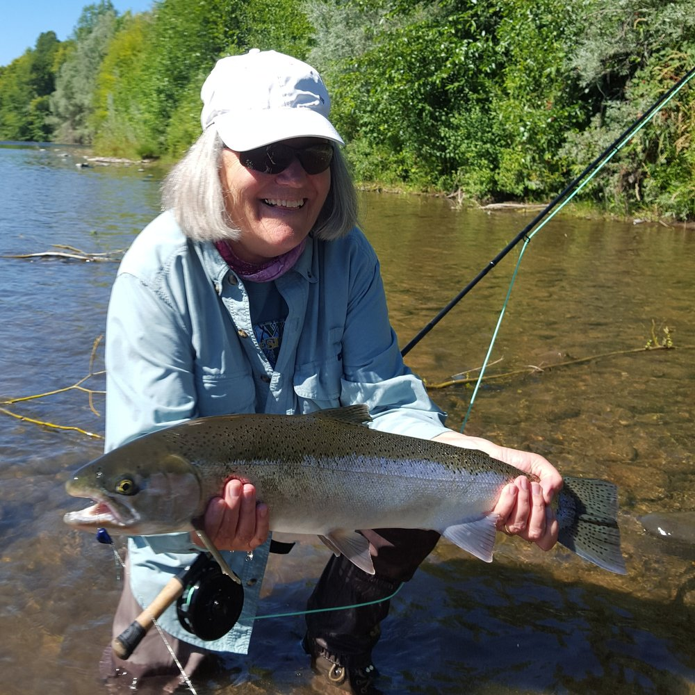 Rogue River Fly Fishing for steelhead