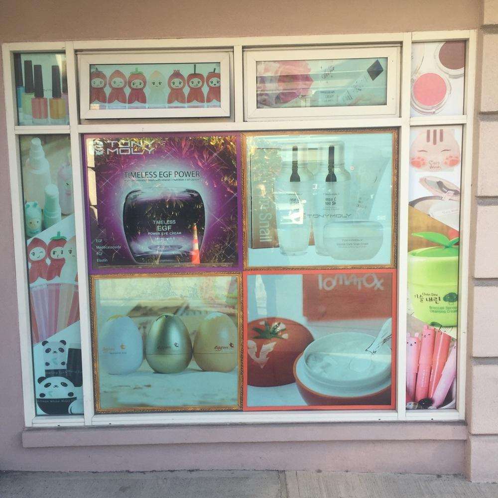 TonyMoly Hawaii store front